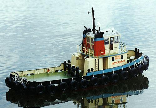 Steps for building model boat kit Wyeforce Tug by Model Slipway